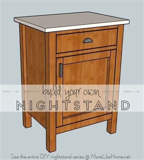 Plans For Nightstand by Nightstands Day 8 Classic Cupboard More Like Home