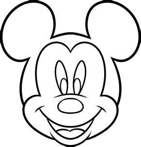 draw mickey mouse  kids step  step disney