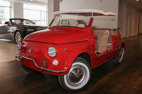 Fiat Jolly For Sale by Fiat 500 Jolly By Ghia Classic Fiat 500 1970 For Sale