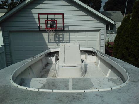 ft wellcraft  center console project boat  hull