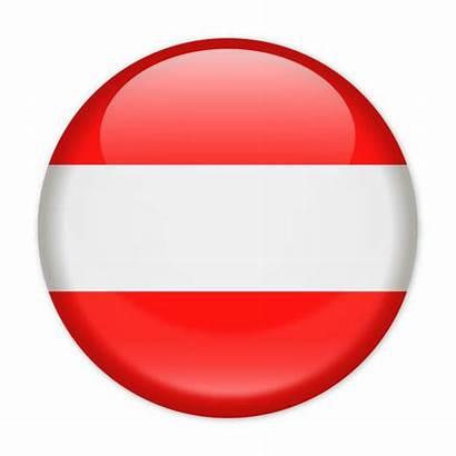 Flag Vector Austria Austrian Icon Clip Round