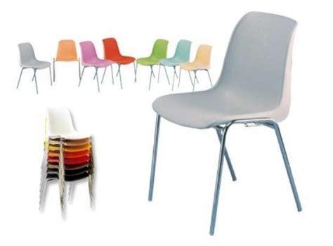 chaise coque plastique chaise coque plastique empilable à fenouillet meubles