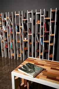 Bibliothèque Design Bois : biblioth que design r60 ~ Teatrodelosmanantiales.com Idées de Décoration