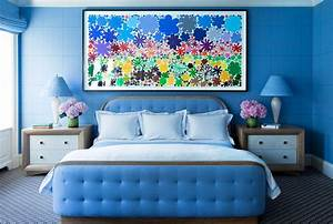 Blue Paint, Accessories and Home Decor - How To Decorate