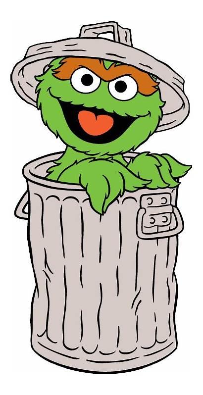 Oscar Grouch Sesame Street Elmo Clipart Bird