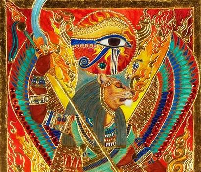 Sekhmet Egyptian Kemet Gods Ptah God Powerful