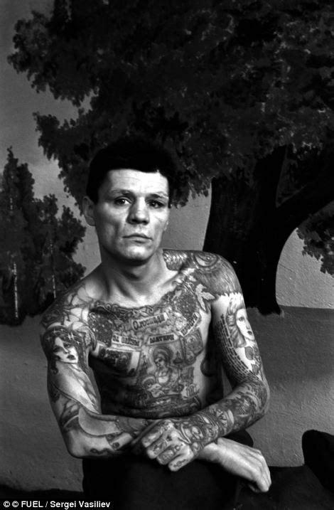 sergei vasiliev russian criminal tattoos