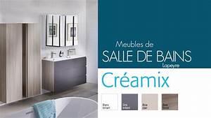 meubles de salle de bains creamix lapeyre youtube With meuble s