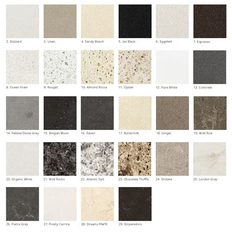 what color is quartz ikea personlig quartz countertop colours countertops
