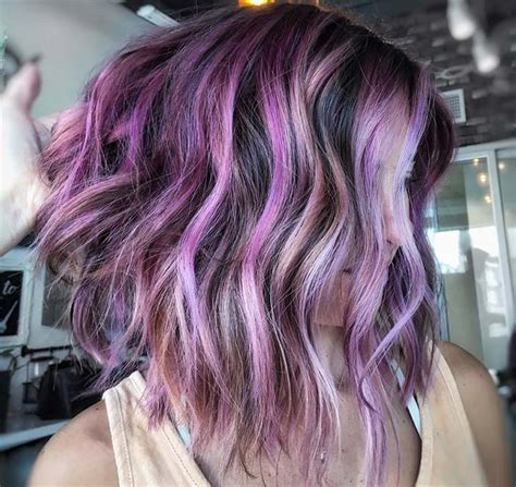 And Purple Hairstyles by 50 Lovely Purple Lavender Hair Colors Purple Hair