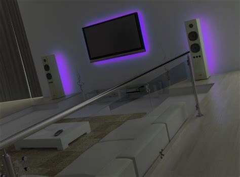 12v 24 led light lazer glow sofa bed