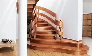 Handlauf Für Treppe : treppe handlauf holz wohn design ~ Markanthonyermac.com Haus und Dekorationen