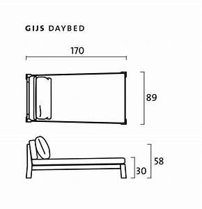 Gijs Day Bed By Piet Boon Collection  U2014