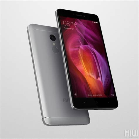 Xiaomi Redmi Note 4 With 4gb Ram, 4100mah Battery Launched