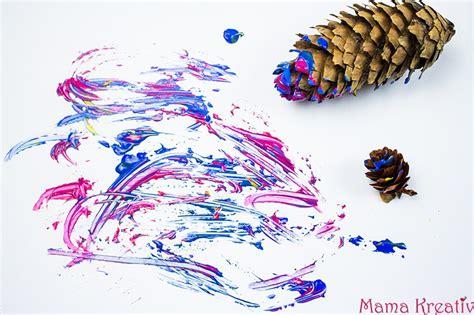 6 Ideen Zum Malen Im Winter Mit Kindern +video