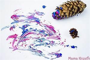 Malen Mit Kindern : 6 ideen zum malen im winter mit kindern video mama kreativ ~ Orissabook.com Haus und Dekorationen