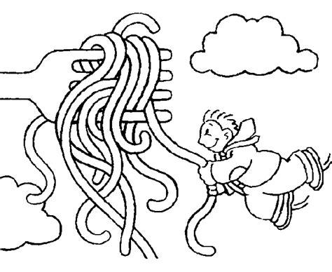 Kleurplaat Spaghetti Eten by Kleurplaat Keuken Koken Eten Spagetti