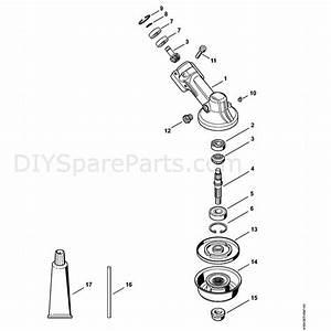 Stihl Fs 131 R Brushcutter  Fs 131 R  Parts Diagram  K
