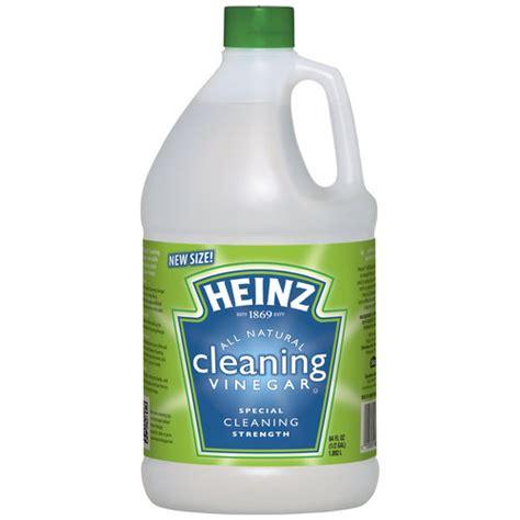 adding vinegar to wash cleansers tgm123