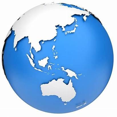 Globe Earth Asia Pacific Region East Australia