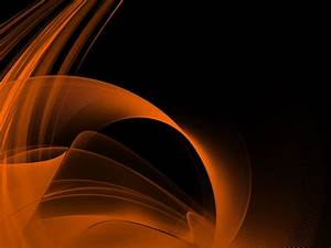 Black and Orange Desktop Wallpaper | PixelsTalk.Net