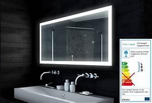 Lampe Für Badezimmerspiegel : design badezimmerspiegel led lampe 140x65cm mld14065 ~ Orissabook.com Haus und Dekorationen