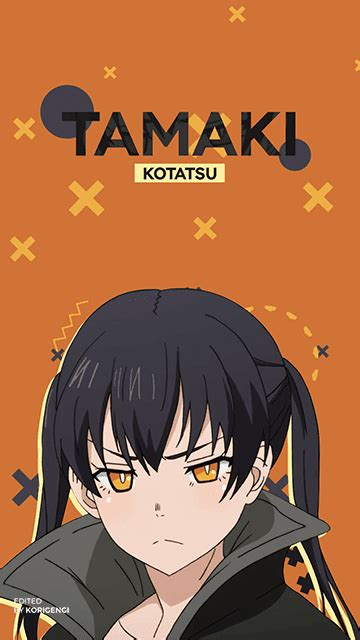 Tamaki Kotatsu Fire Force Wallpaper Korigengi — Anime