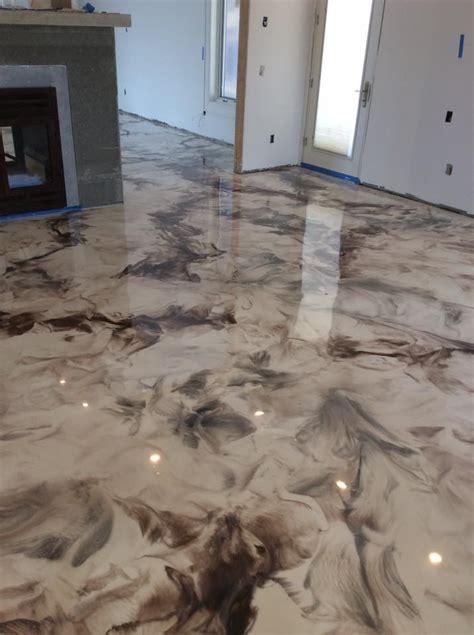 A metallic epoxy garage floor coating is one of the most common places to use metallic epoxy floors. Metallic Epoxy Floor Coatings - Hudson Valley Epoxy Flooring