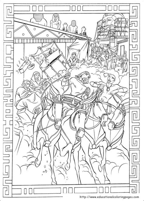 Prince Egypt Coloring Pages - Educational Fun Kids