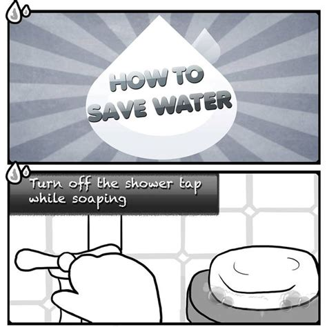 Shower Turns But No Water - how to save water turn the shower tap while soaping
