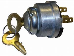 Ignition Switch W  Key - Ignition And Light Parts