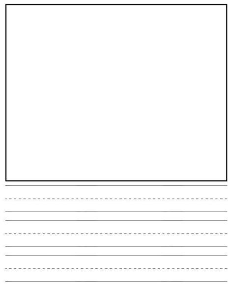 preschool handwriting paper 6 best images of printable primary writing journal paper 858