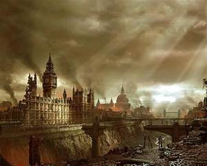 Wallpaper Legendary London England Games Ruins