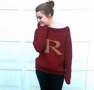 75 best harry potter style clothes images on pinterest With harry potter letter sweater