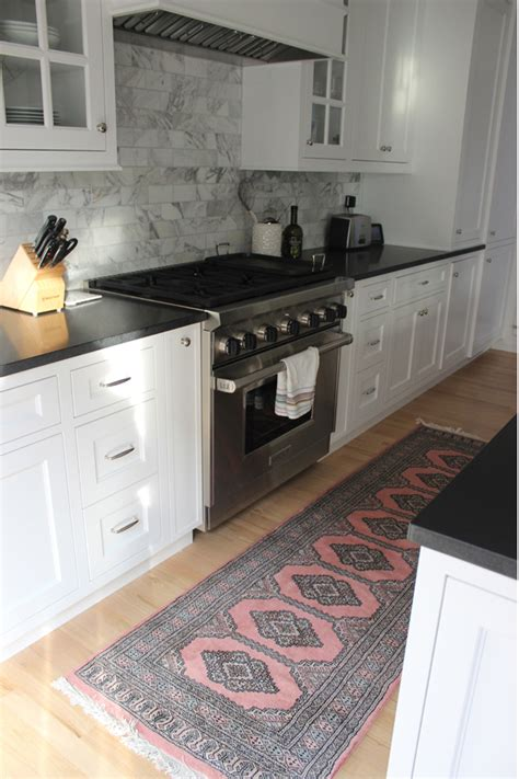 home decor pink persian rugs   kitchen