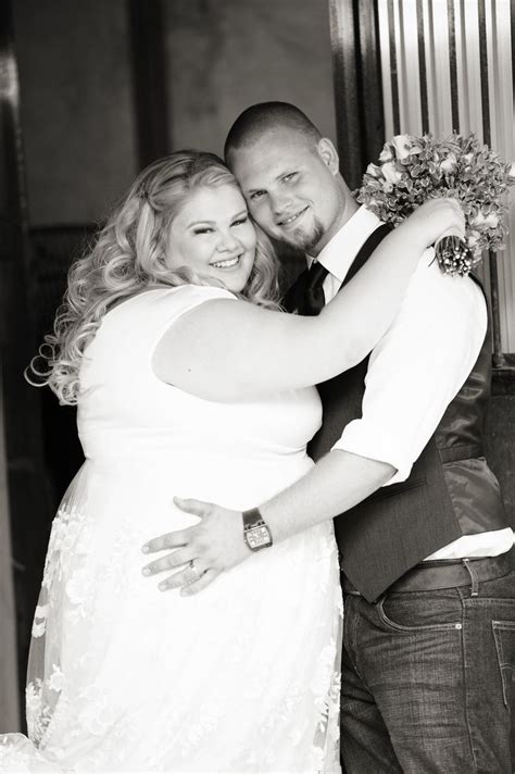 Country Wedding Plus Size Bride Groom George Street