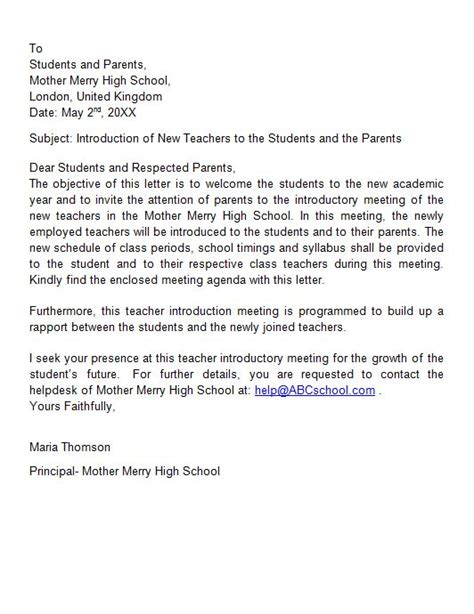 Letter Of Introduction Template 41 Free Letter Of Introduction Templates Exles Free
