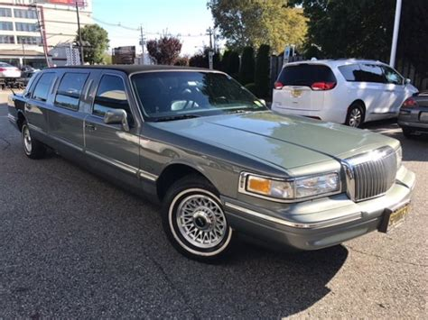 For Limo by Used 1997 Lincoln Picasso Formal Limo Stretched For Sale
