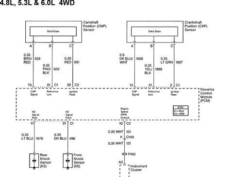 Wiring Diagram For 1999 Chevy Silverado by 1999 Chevy 1500 Silverado Code 0336 Crank Position