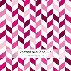 Pink Chevron Background | 123Freevectors