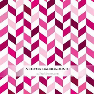 Pink Chevron Background | 123Freevectors