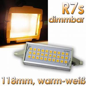Led R7s Dimmbar : led leuchtmittel r7s dimmbar 30 smds warmwei 118mm 230v 8w fluter ebay ~ Markanthonyermac.com Haus und Dekorationen