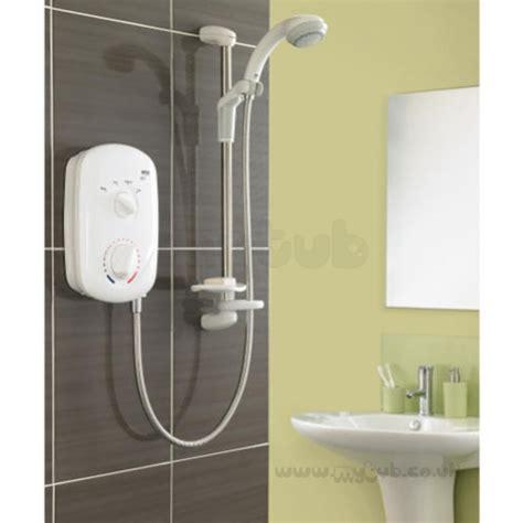 Mira Zest Shower Manual - mira zest electric shower 7 5 kw white chrome plated mira