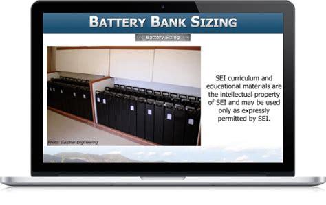 solar training pv system fundamentals battery based