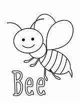 Coloring Pages Bee Bugs Preschool Little Bug Insect Easy Insects Sheets Toddler Activities Spring Craft Printable Bees Easypeasyandfun Funnycrafts Peasy sketch template