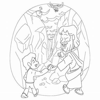 Psalm Children Coloring Printable Bible Lesson Valley