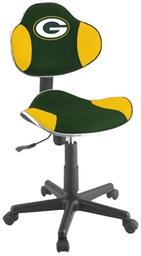 green bay packers rookie chair office chairs outlet
