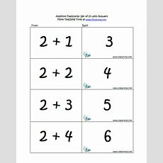 Addition Flashcards  K5 Learning
