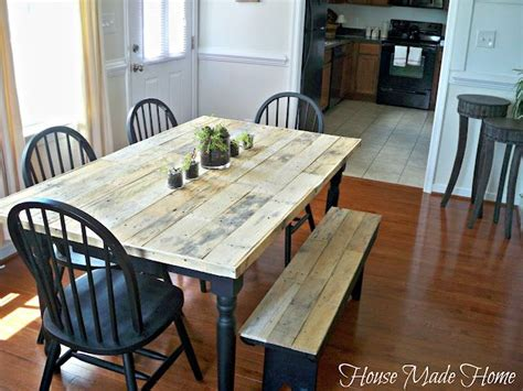 pallet dining room table how to build a dining room table out of pallets