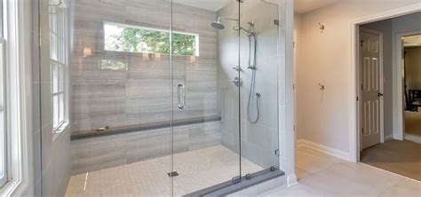 walk  shower tile ideas   inspire  pearl